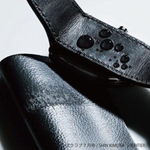 革素材へのコーティング